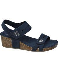 graceland E Sandalette Kurk - Blauw