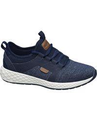 Bench Donkerblauwe Sneaker