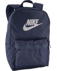 Nike Donkerblauwe Rugtas - Grijs