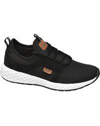 Bench E Lightweight Sneaker - Zwart