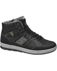 Memphis One E Halfhoge Sneaker - Zwart