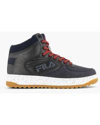 Fila Zwarte Hoge Sneaker