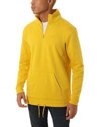 Vans Versa Quarter Zip Pullover - Gelb