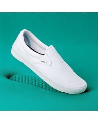 Vans Comfycush Slip-on Schuhe - Weiß