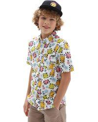 Vans Jungen X Spongebob Airbrush Buttondown Hemd - Mehrfarbig