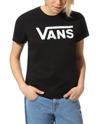 Vans T-Shirt »FLYING V CLASSIC« - Schwarz