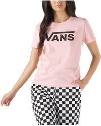 Vans T-shirt Flying V Crew - Rose