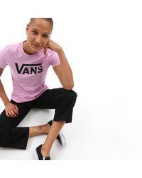 Vans Flying V Rundhals-t-shirt - Pink
