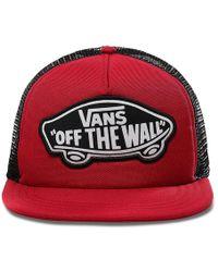 Vans Beach Girl Trucker Hat - Rot