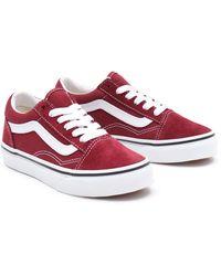 Chaussures Old Skool Ado Vans en coloris Rose - Lyst