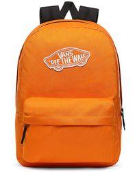 Vans Realm Rucksack - Orange