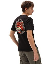 Vans Caged T-shirt - Schwarz