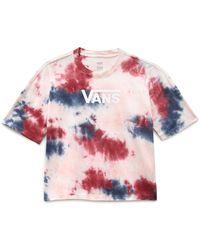 Vans T-shirt Interrupt - Rouge