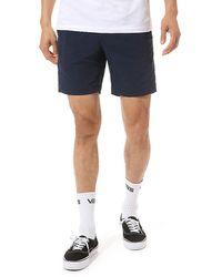 Vans X Pilgrim Surf + Supply Shorts - Blau