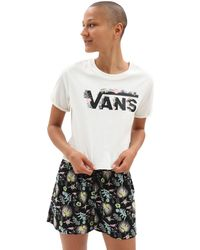 Vans Blozzom Roll Out T-shirt - Weiß