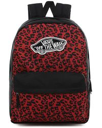 Vans Realm Backpack - Red