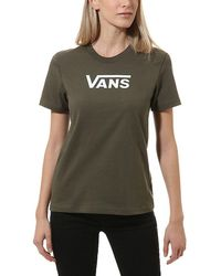 Vans Flying V Classic T-shirt - Grün