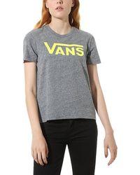 Vans Flying V Crew T-shirt - Grau