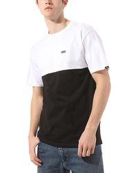 Vans Colourblock T-shirt - Schwarz