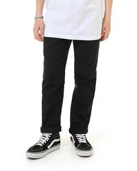 Vans Boys Authentic Chino Stretch - Black