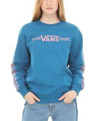 Vans Funnier Times Crew Sweatshirt - Blau