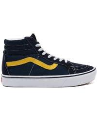 Vans Sport Comfycush Sk8-hi Reissue Shoes - Blue