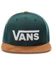 Vans Drop V Ii Snapback Pet - Groen