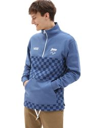 Vans Sweat-shirt X Penn Half Zip - Bleu