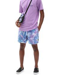 Vans Tie Dye Volley Boardshorts - Blau