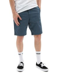 Vans Authentic Stretch Shorts 20'' - Blauw