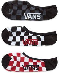 Vans Classic Super No Show Socken - Rot