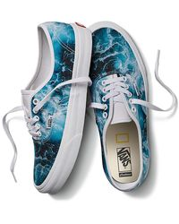 Vans - X National Geographic Personalisierbare Authentic - Lyst