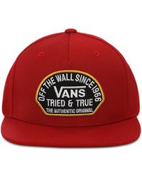 Vans Casquette Authentic Og Snapback - Rouge