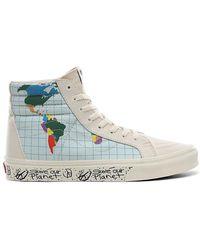 Vans Save Our Planet X Sk8-hi Reissue Shoes - Multicolour