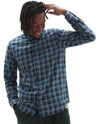 Vans Alameda Ii Buttondown Shirt - Blue