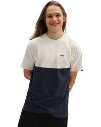 Vans Colorblock T-shirt - Blau
