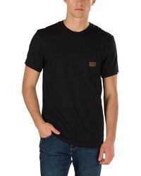 Vans Gilbert Crockett T-shirt Mit Brusttasche - Schwarz