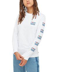 Vans Love Langarmshirt - Weiß
