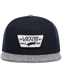 Vans Full Patch Snapback Pet - Blauw