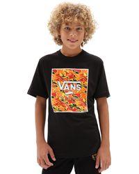 Vans Jungen Print Box T-shirt - Schwarz