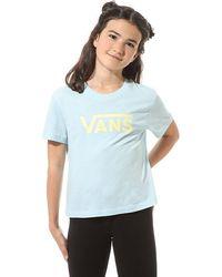Vans Mädchen Flying V T-shirt - Blau