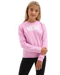 Vans - Mädchen Classic V Pullover - Lyst