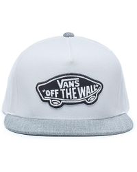 Vans Classic Patch Snapback Kappe - Weiß