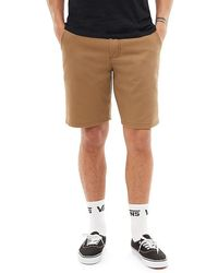 "Vans "" Authentic Stretch Shorts 20"""" - Bruin"