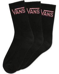 Vans Classic Crew Socks - Black