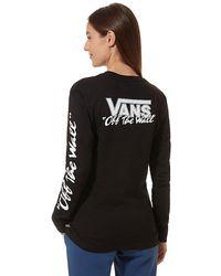 Vans - Bmx Langarm-t-shirt - Lyst