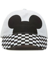 Vans Disney X Checkerboard Mickey Court Side Pet - Meerkleurig