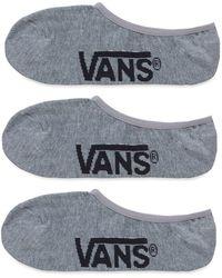 Vans Classic Super No Show Socken - Grau