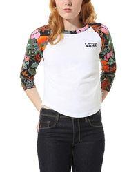 Vans T-shirt À Manches Longues Nursery - Blanc