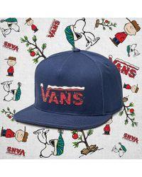 Vans X Peanuts Snapback Hat - Blue